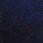geranium meteoor 58 - 38x58cm - olieverf op doek - 2015