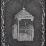 mexican birdcage - 57x70 - pigmentliner op papier