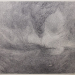 zonder titel - 154x134,5cm - pen op papier - 2014