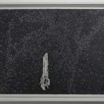 zonnebloemwortel - 64,2x52,2cm - pen op papier - 2015