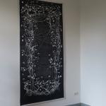 geranium meteoor 44w -136 x 255 cm - katoen, wol en acryl- 2015